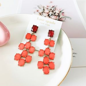 ❗️LAST ONE❗️Kate Spade Statement Earrings Coral